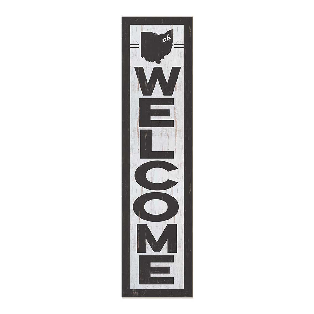 12x48 State Welcome Ohio Leaner Sign