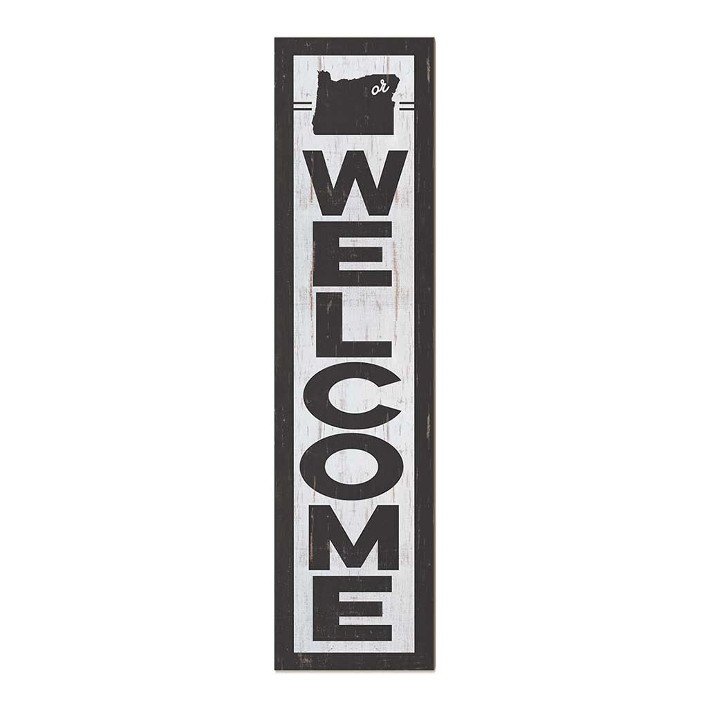 12x48 State Welcome Oregon Leaner Sign