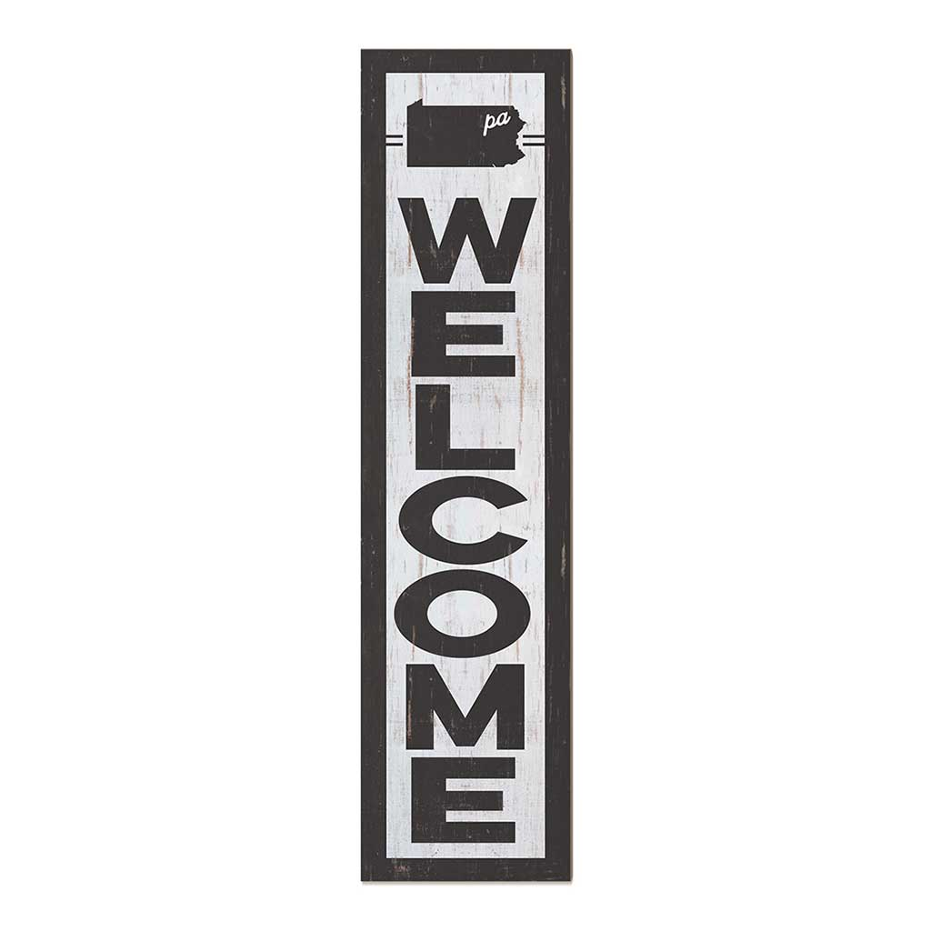 12x48 State Welcome Pennsylvania Leaner Sign
