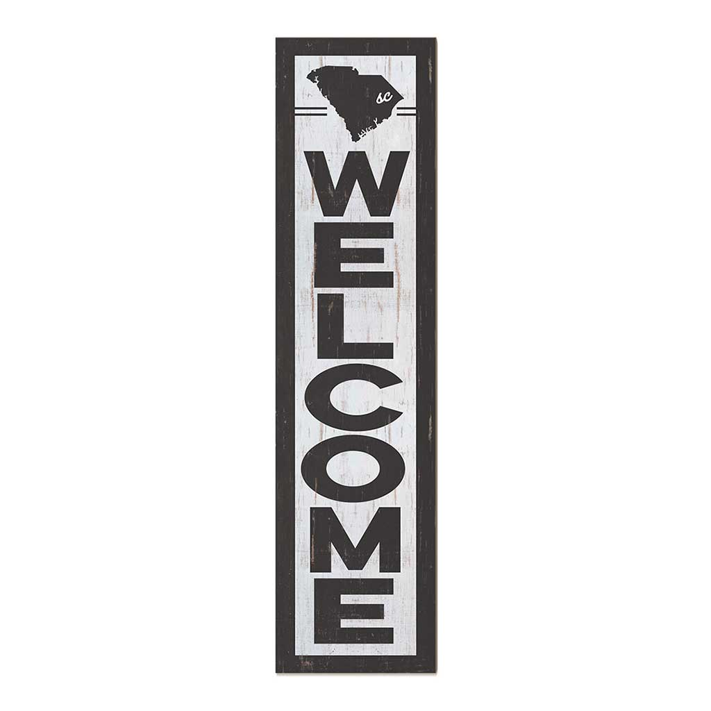 12x48 State Welcome South Carolina Leaner Sign