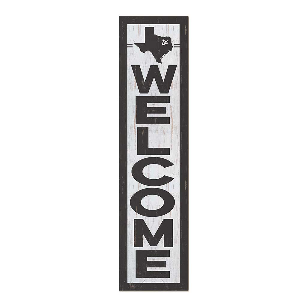 12x48 State Welcome Texas Leaner Sign