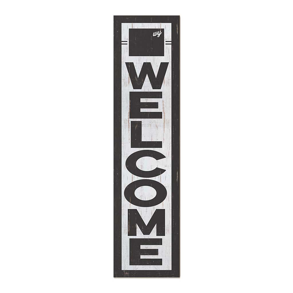 12x48 State Welcome Wyoming Leaner Sign