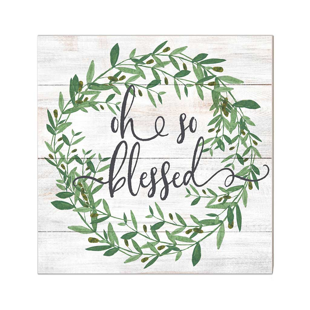 10x10 Oh So Blessed Sign