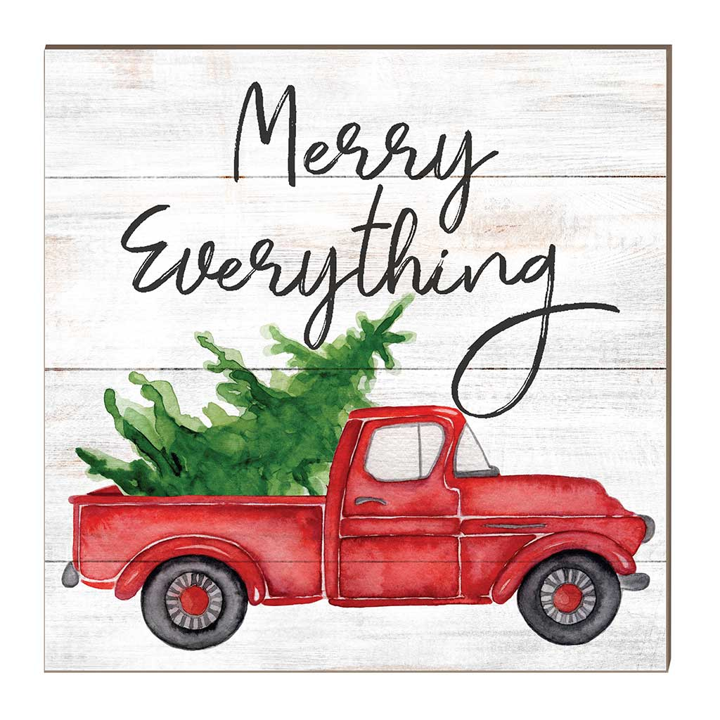 10x10 Merry Everything Truck with Tree Sign