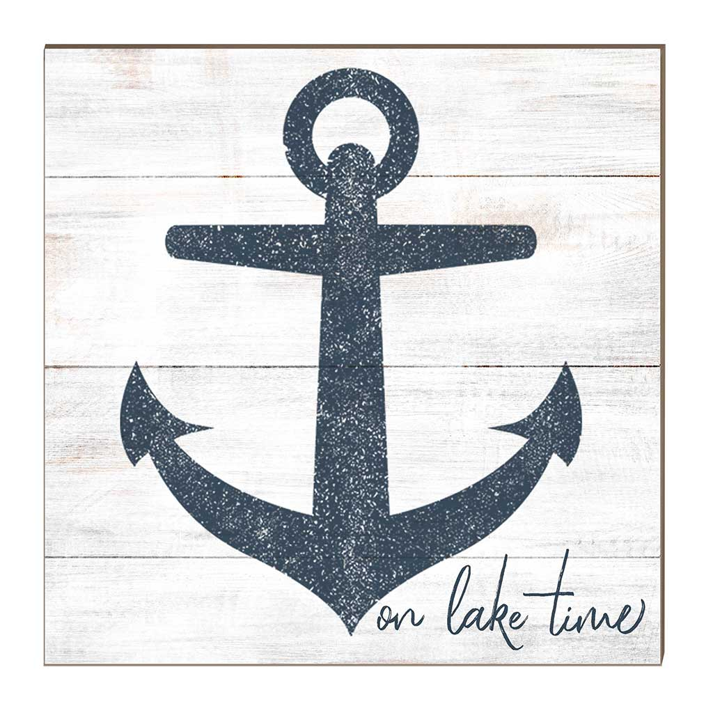 10x10 On Lake Time with Anchor Sign
