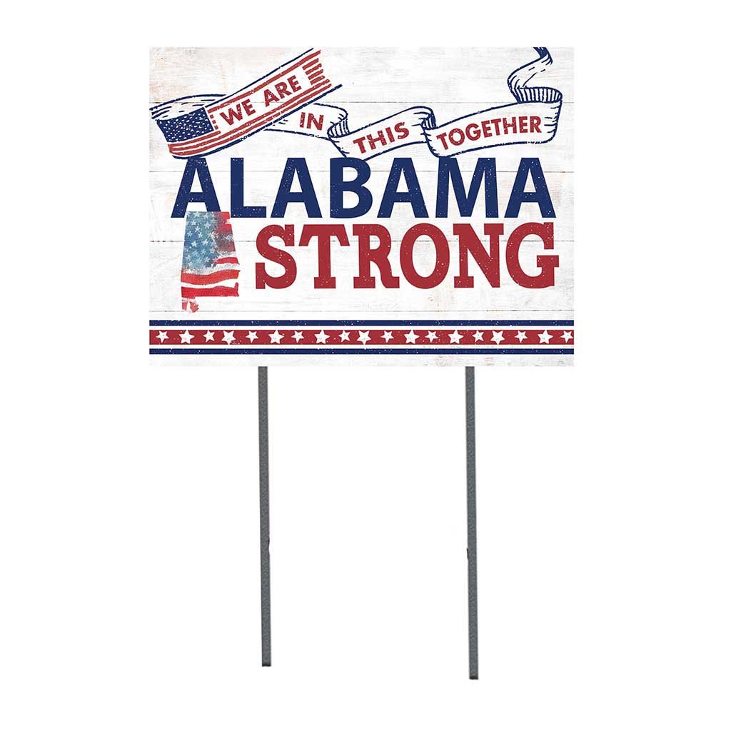 State Strong Lawn Sign Alabama
