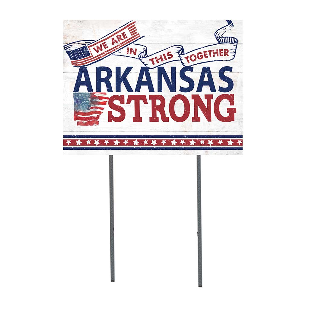 State Strong Lawn Sign Arkansas