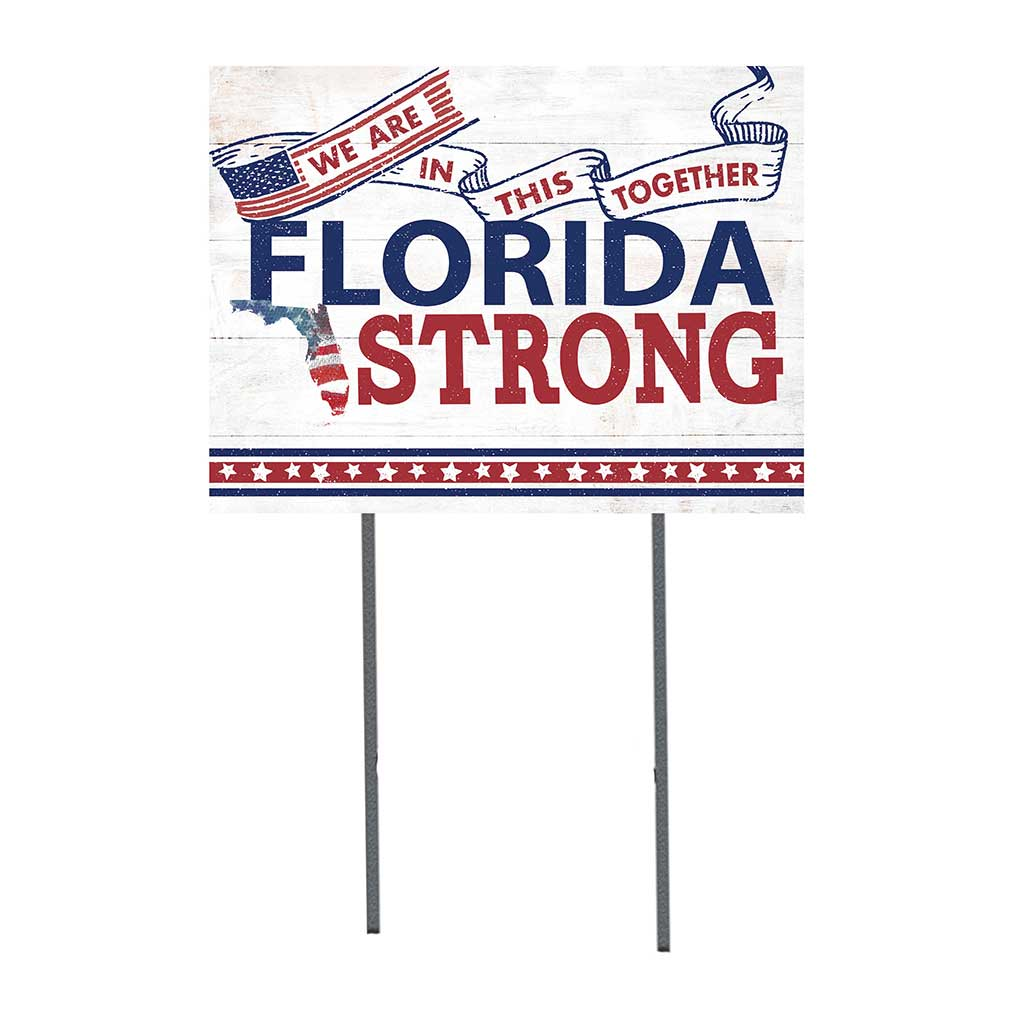 State Strong Lawn Sign Florida