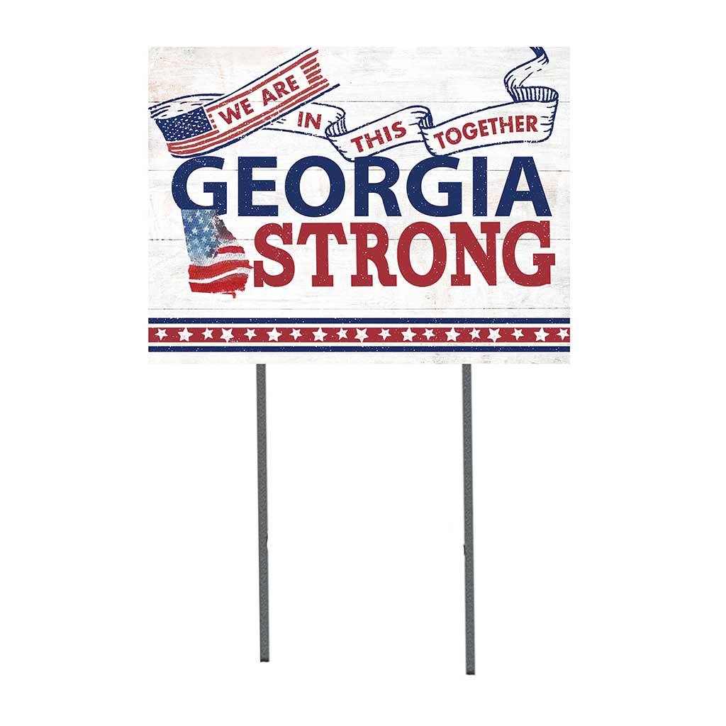 State Strong Lawn Sign Georgia