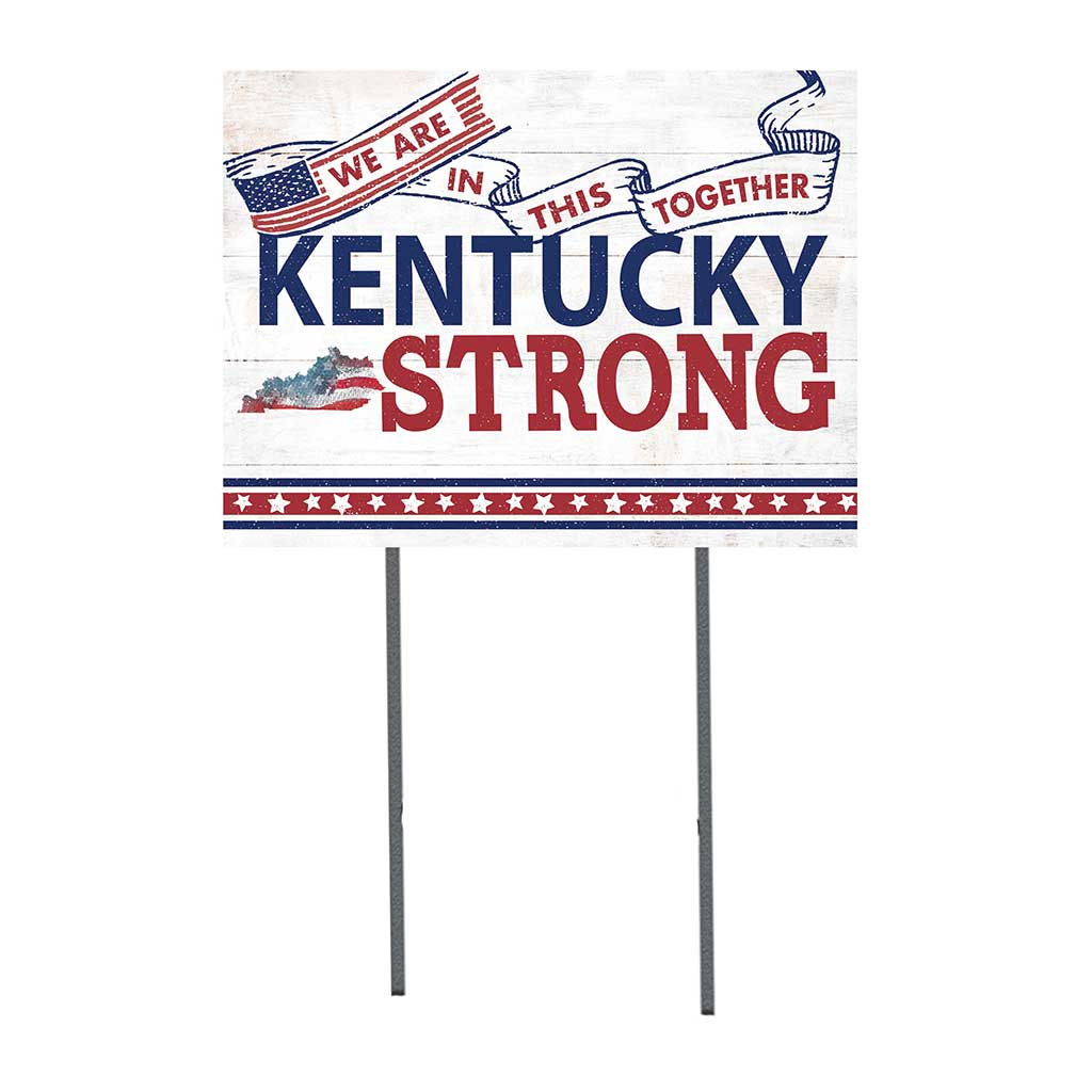 State Strong Lawn Sign Kentucky