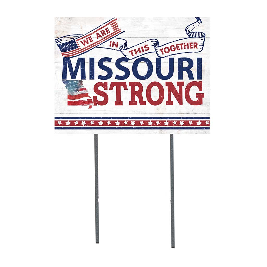 State Strong Lawn Sign Missouri