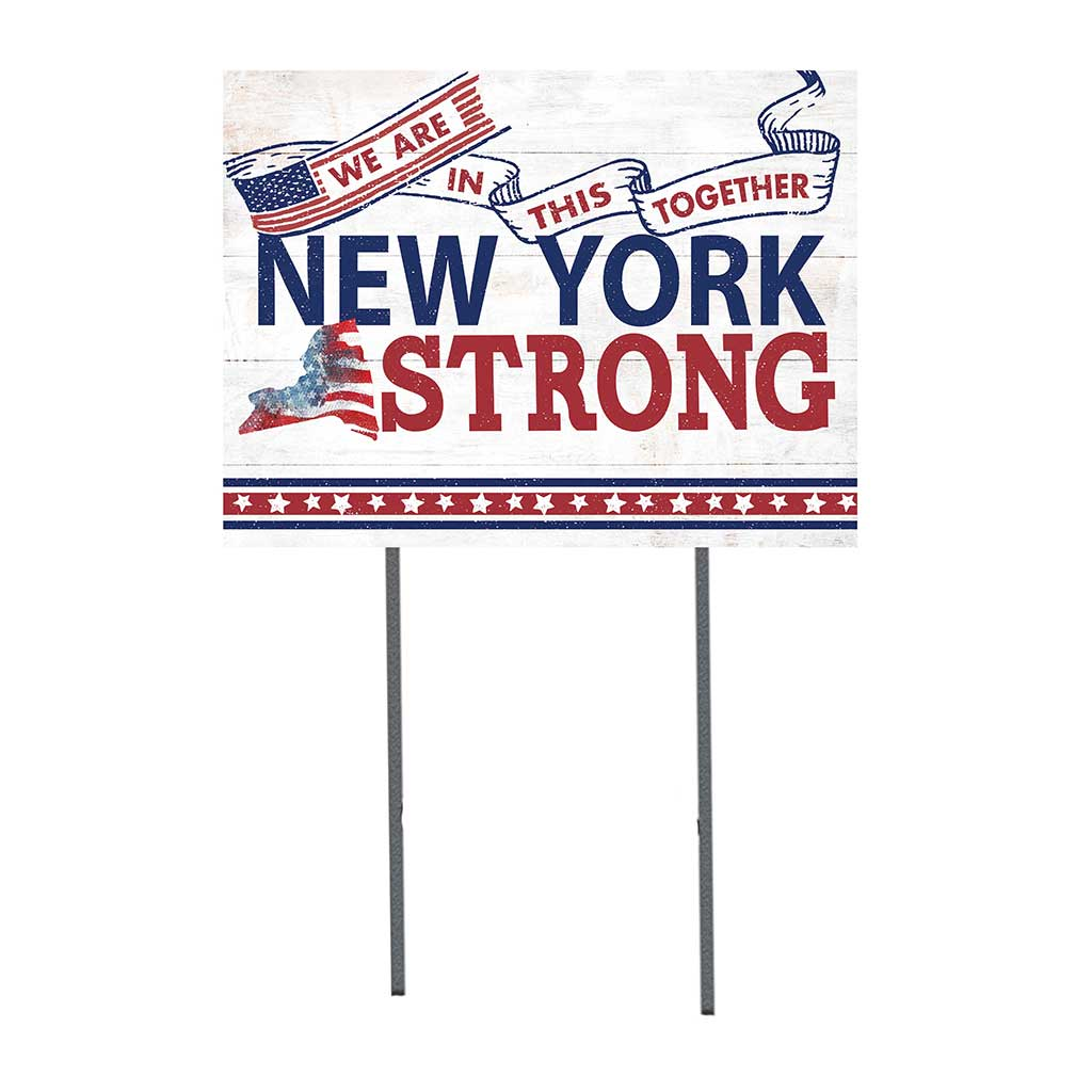 State Strong Lawn Sign New York