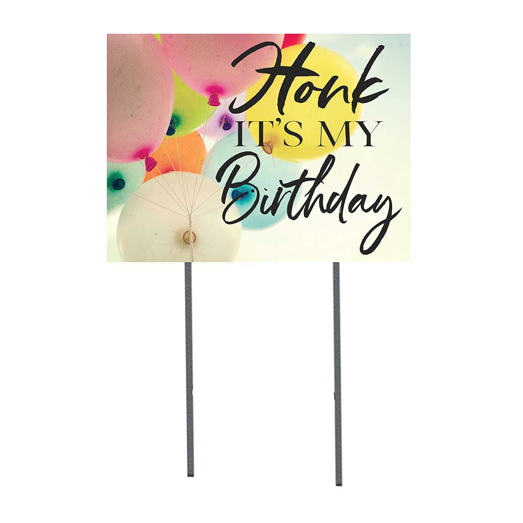 18x24 Honk It's My Birthday Lawn Sign