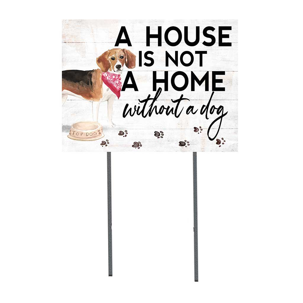 18x24 Beagle Dog Lawn Sign