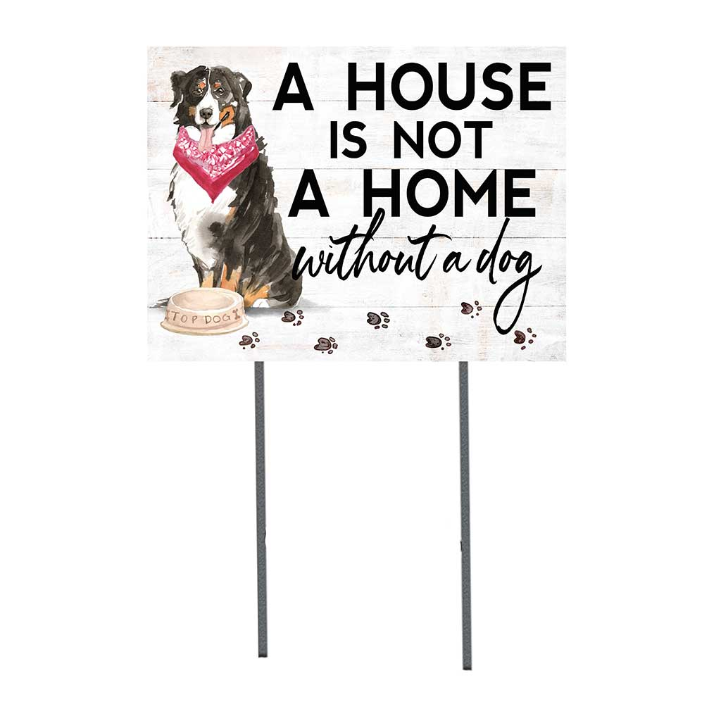 18x24 Bernese Mountain Dog Lawn Sign