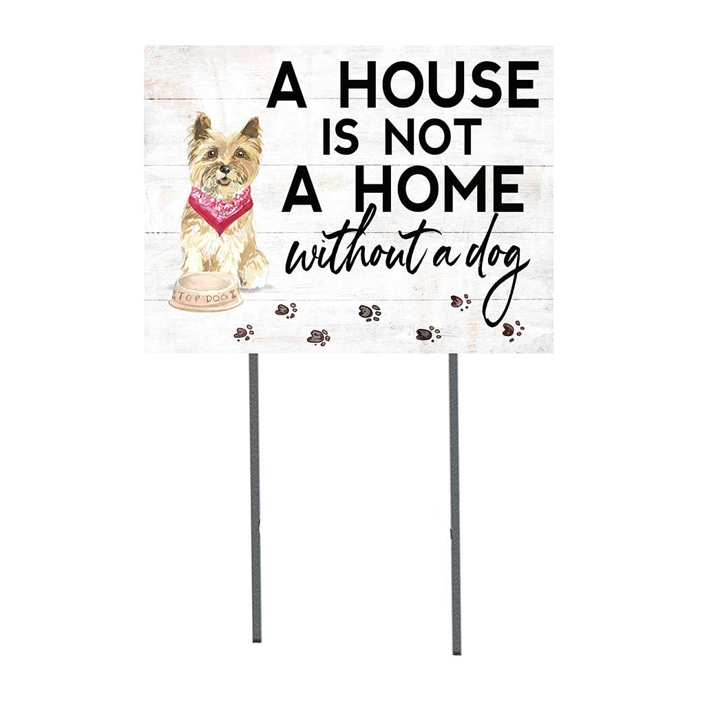 18x24 Cairn Terrier Dog Lawn Sign