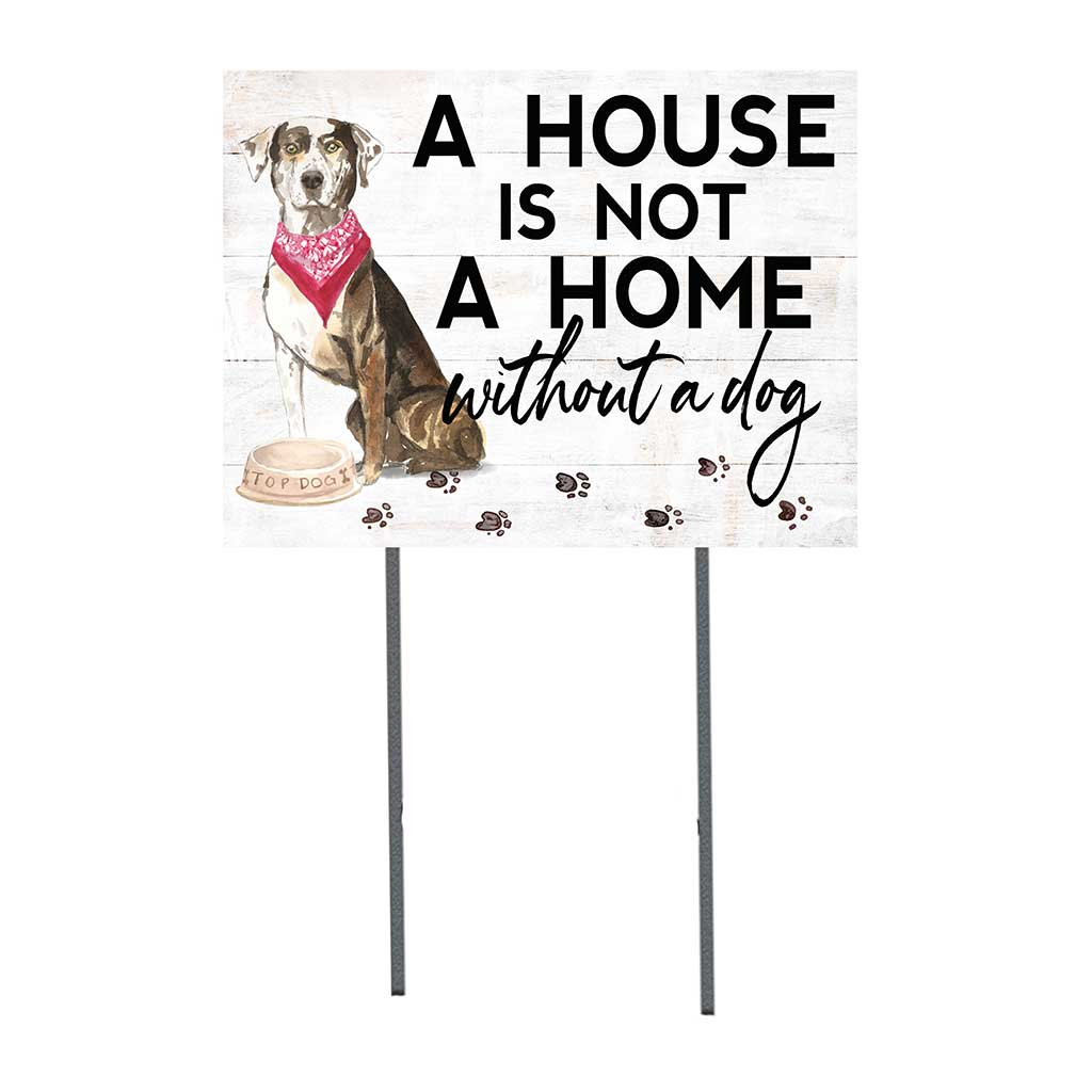 18x24 Catahoula Leopard Dog Lawn Sign