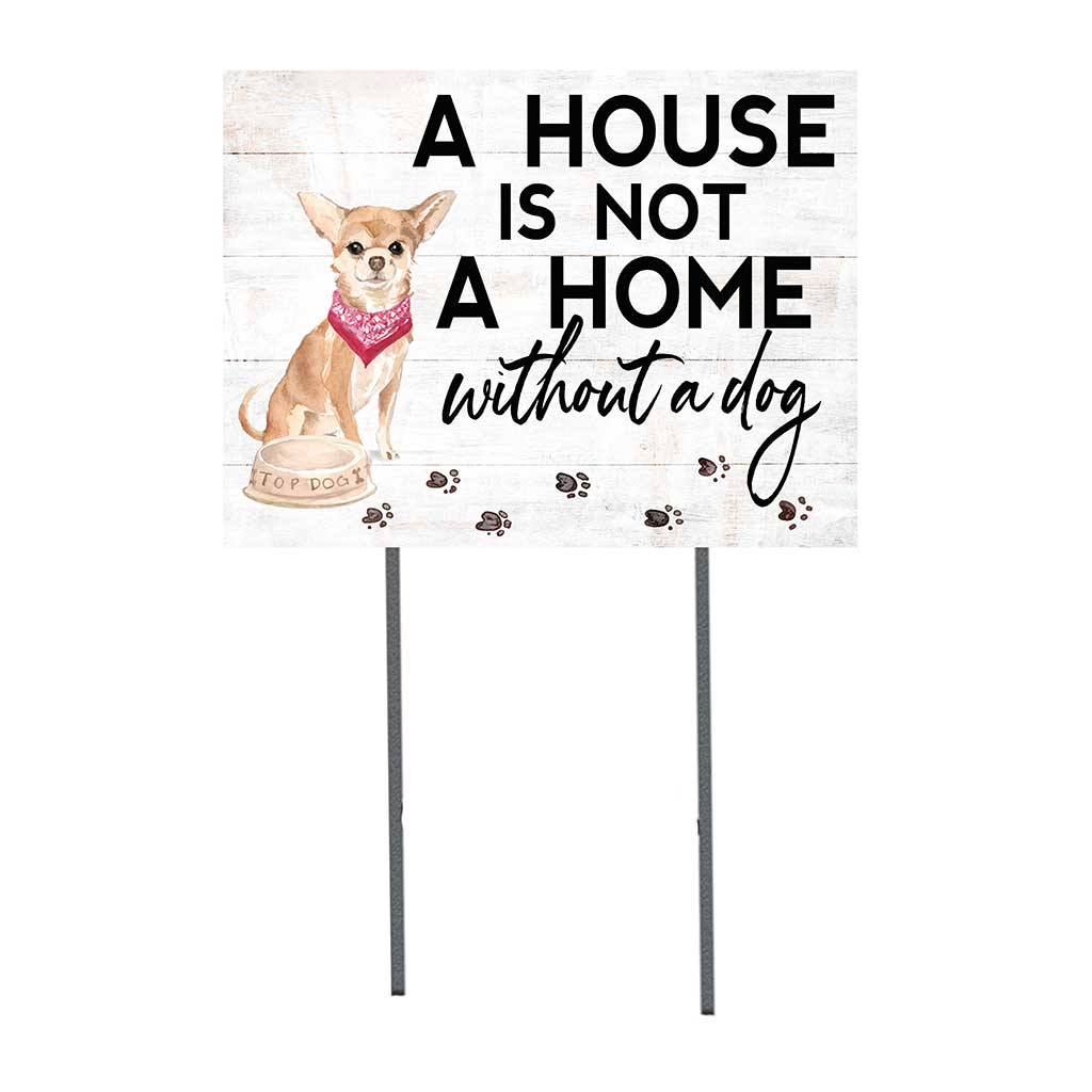 18x24 Chihuahua Dog Lawn Sign