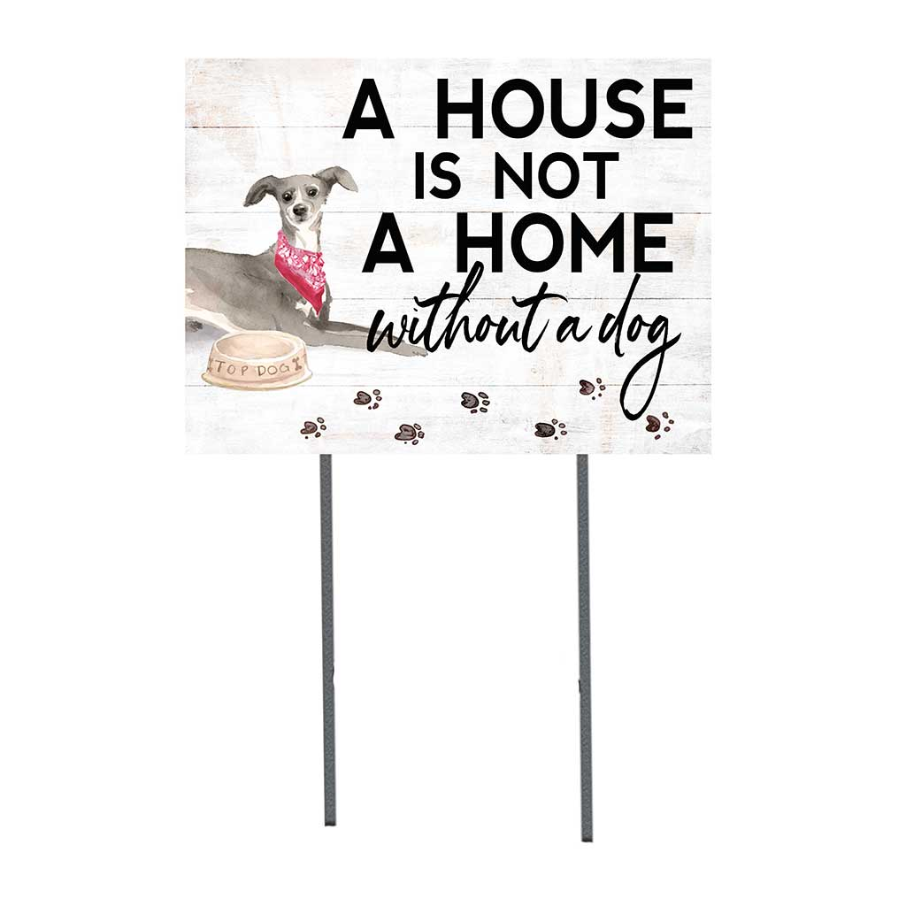 18x24 Greyhound Dog Lawn Sign