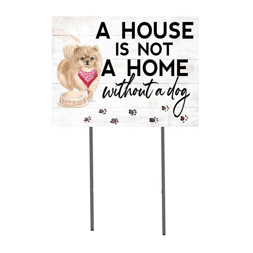 18x24 Pommeranian Dog Lawn Sign