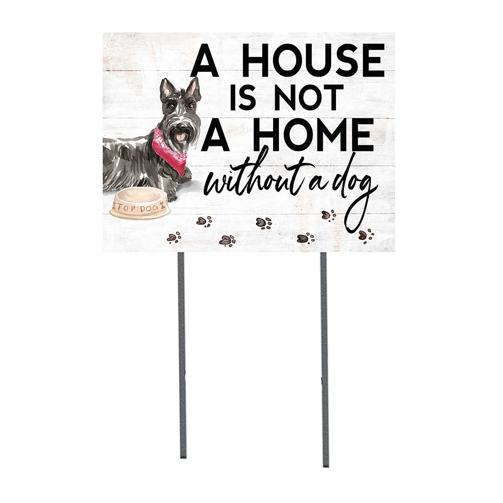 18x24 Scottish Terrier Dog Lawn Sign