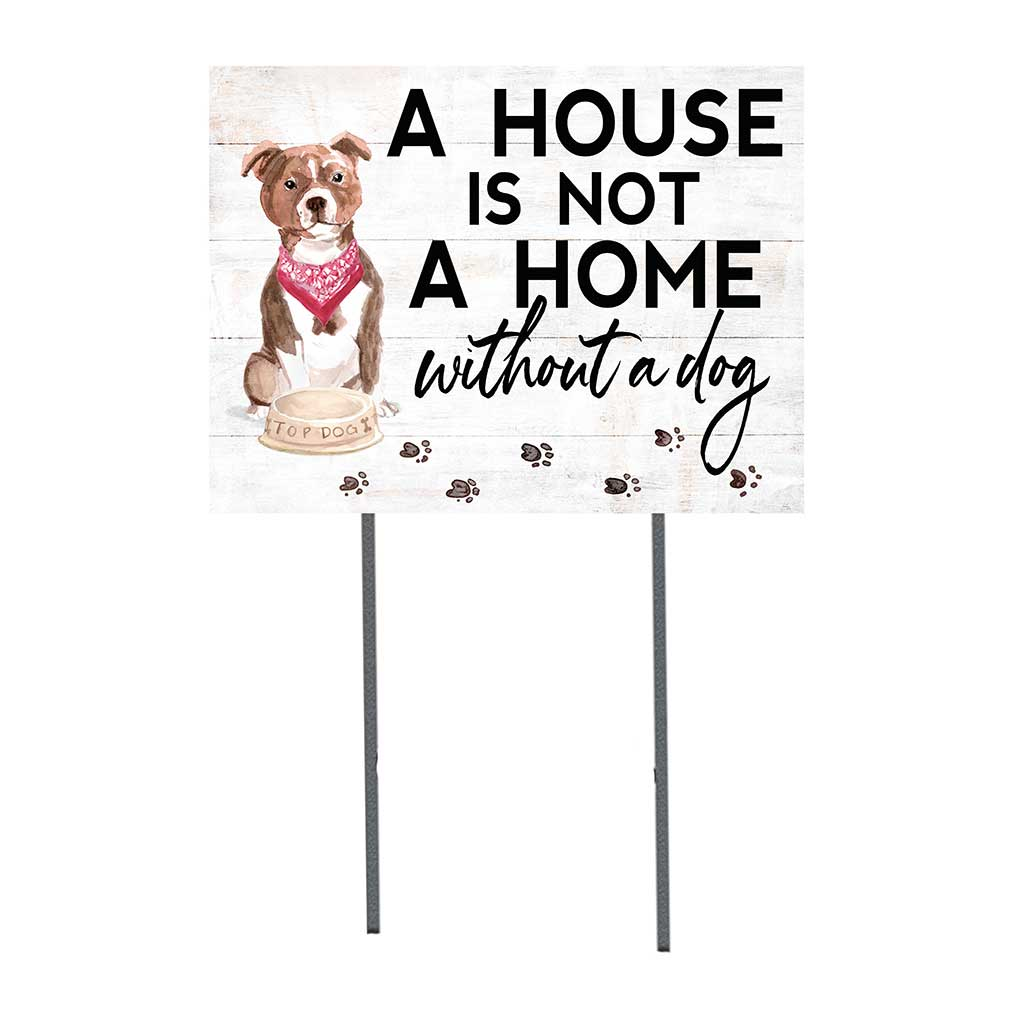 18x24 Bull Terrier Dog Lawn Sign