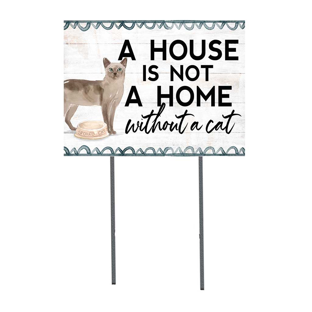 18x24 Tonkinese Cat Lawn Sign
