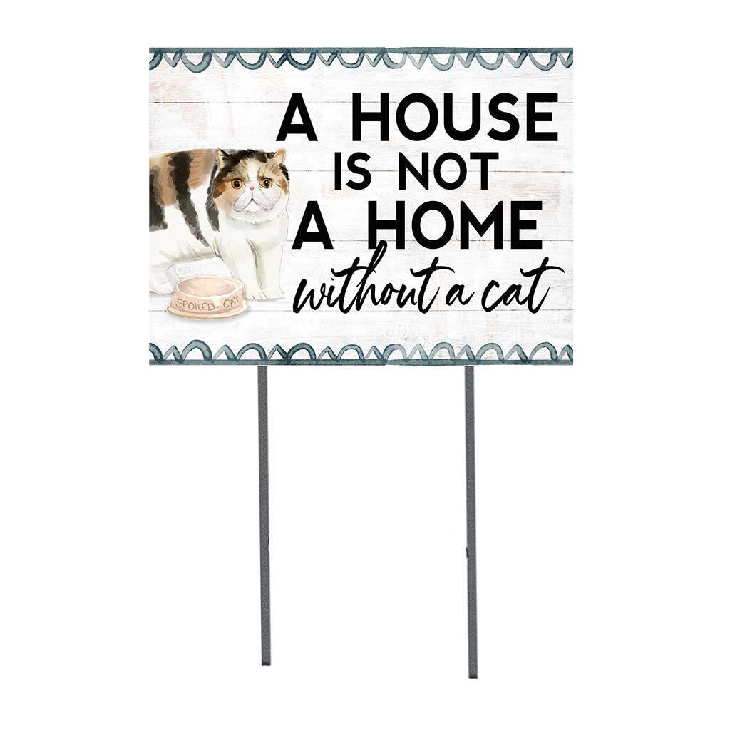 18x24 Exotic Shorthair Cat Lawn Sign
