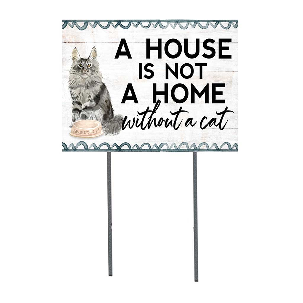 18x24 Maine Coon Cat Lawn Sign