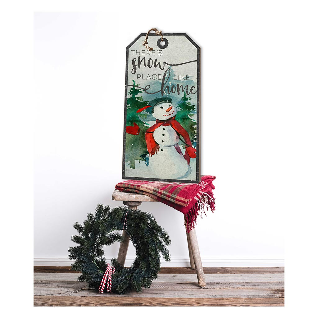 Large Hanging Tag Snowplace Like Home