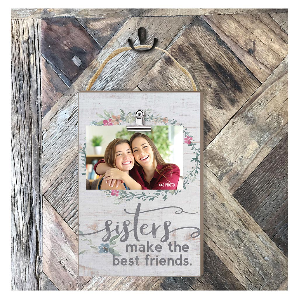 Hanging Clip Photo Frame Sisters Make Best Friends