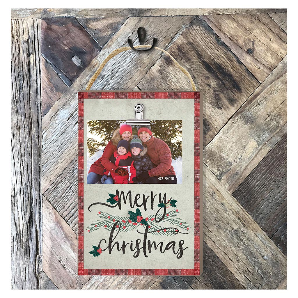 Hanging Clip Photo Frame Merry Christmas