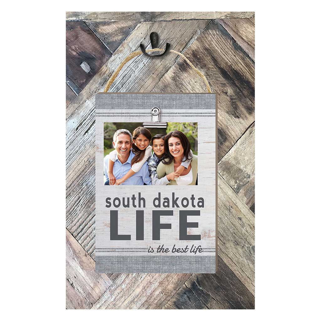 South Dakota Life Hanging Clip Photo Frame