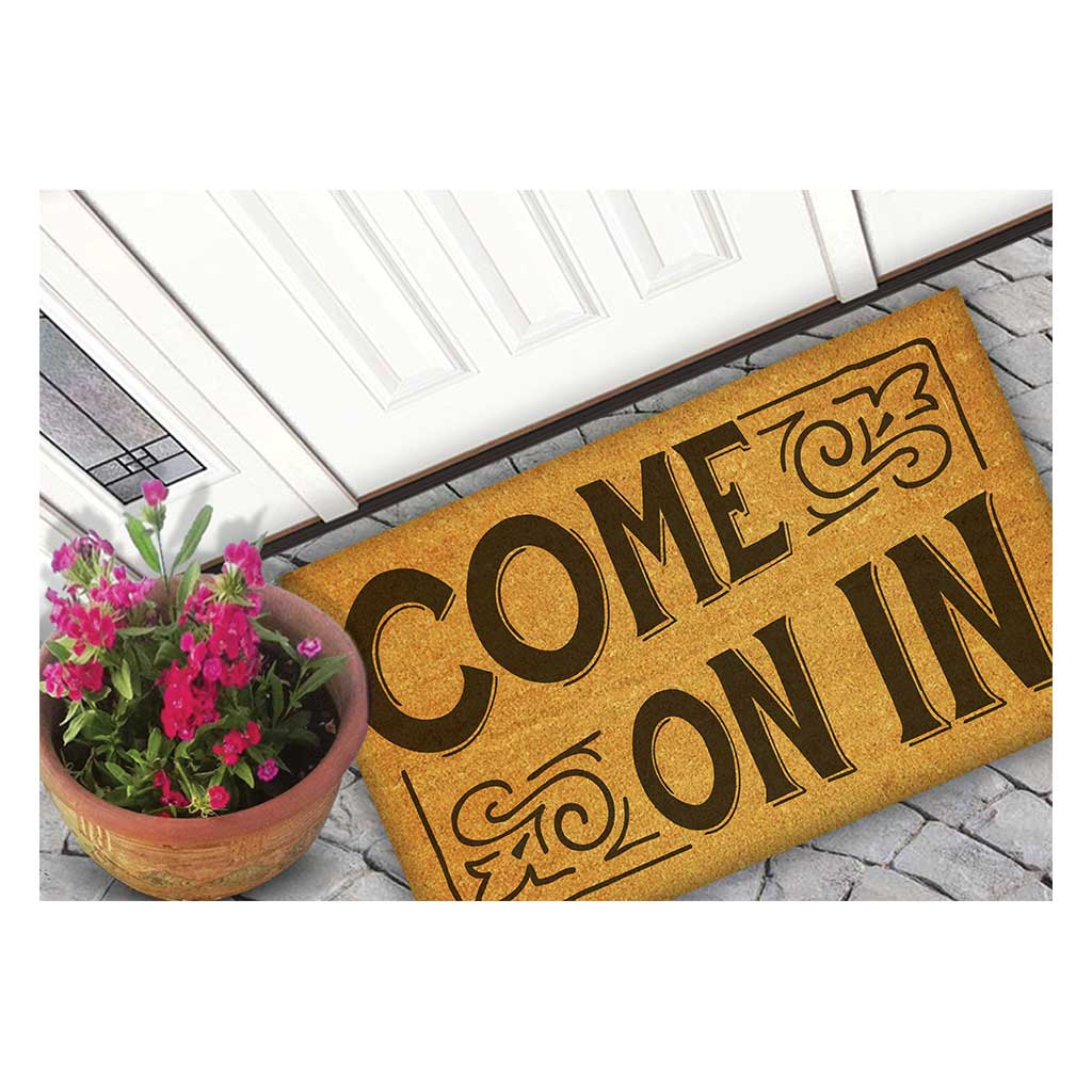 18x30 Coir Doormat Come On In