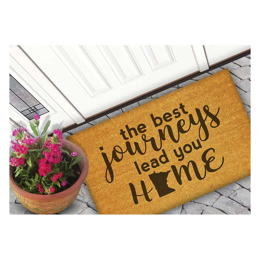 18x30 Coir Doormat Best Journeys Minnesota