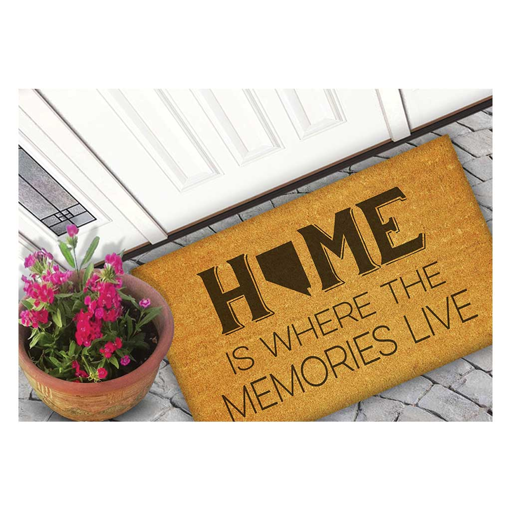18x30 Coir Doormat Home Memories Live Nevada