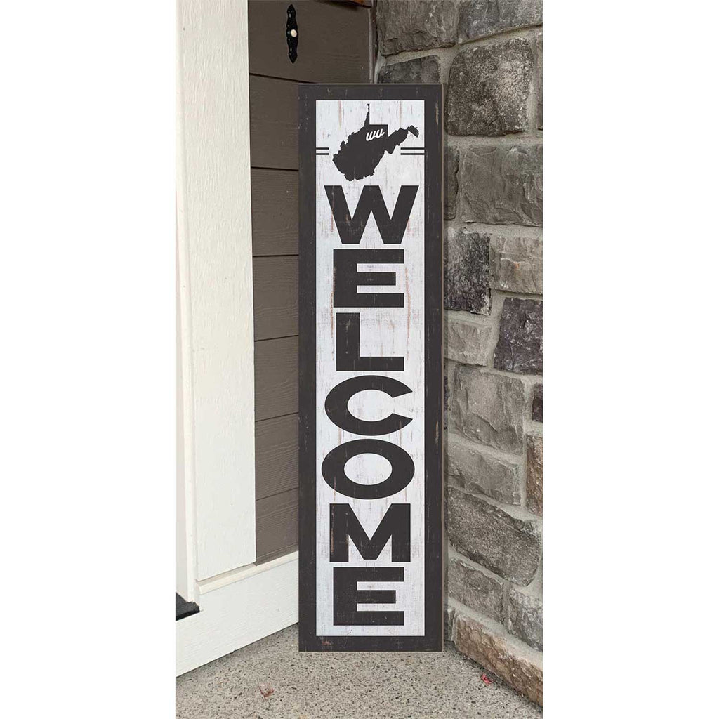12x48 State Welcome West Virginia Leaner Sign