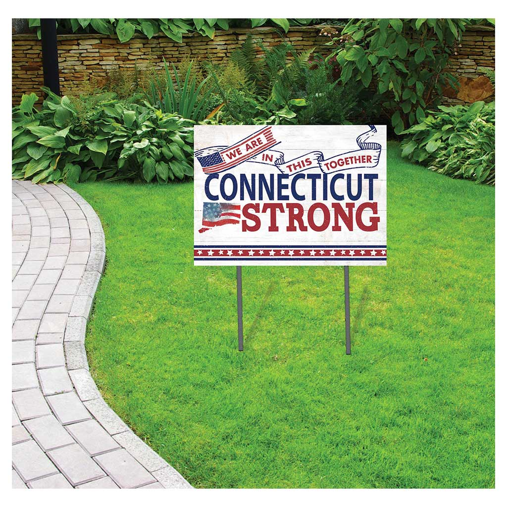 State Strong Lawn Sign Connecticut