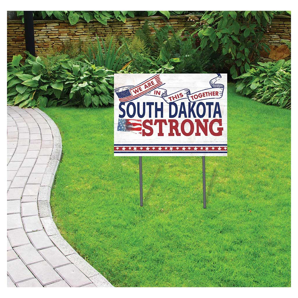 State Strong Lawn Sign South Dakota