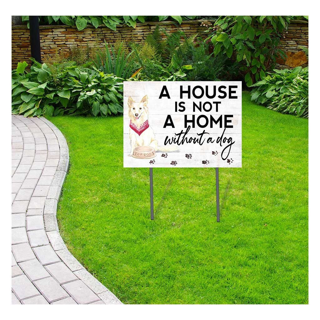 18x24 Whitle Collie Dog Lawn Sign