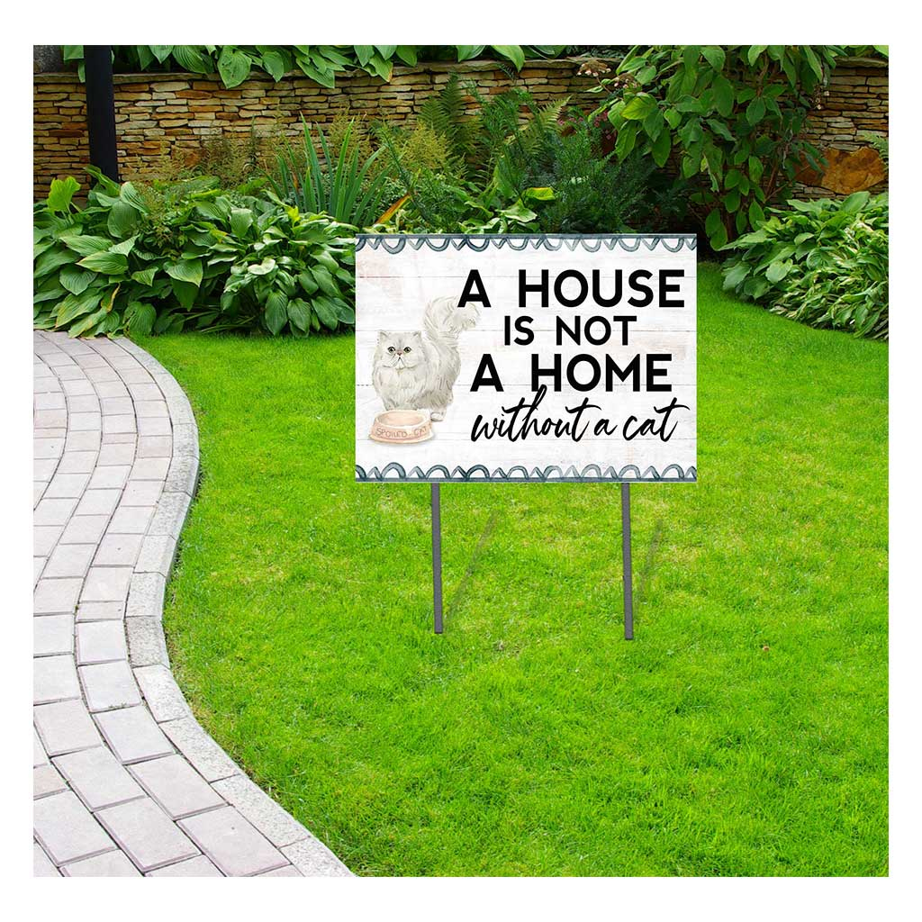 18x24 Persian Cat Lawn Sign