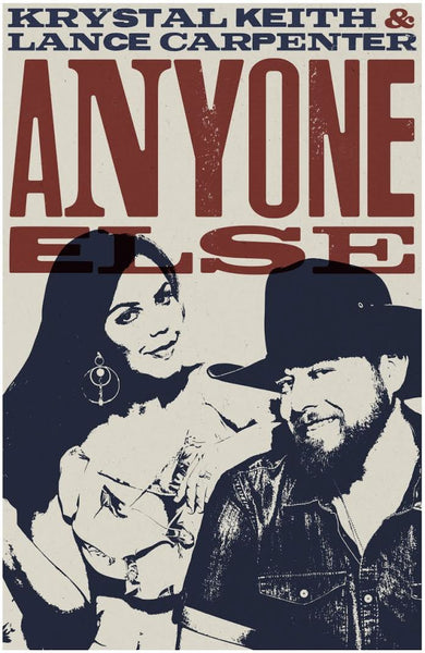 "Krystal Keith ""Anyone Else"" Poster - 11 x 17"