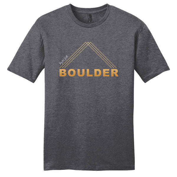Charcoal Boulder Tee