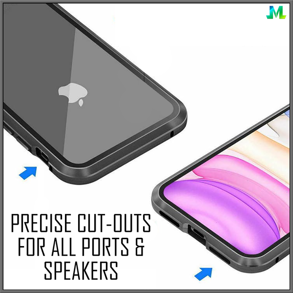 Precise Cut-Outs For All Ports And Speakers