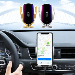 Smart-Clamp™ Wireless Car Phone Charger
