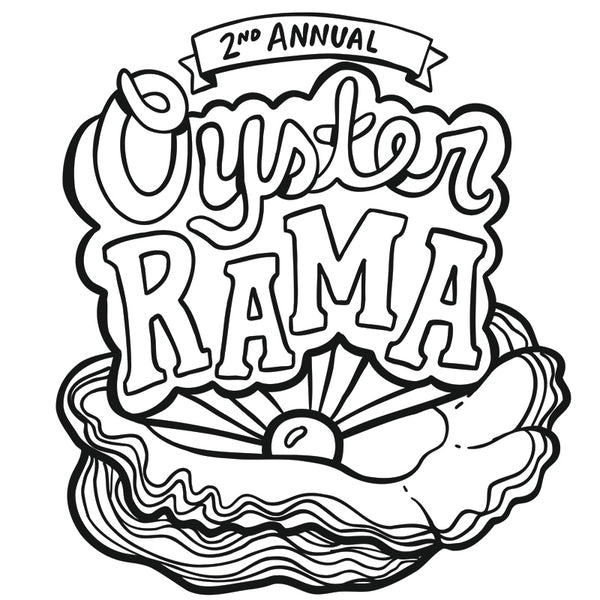 downloadable coloring page pdf of the 2012 Oyster Rama