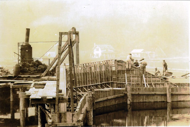 Lilliwaup Bridge ca. 1924