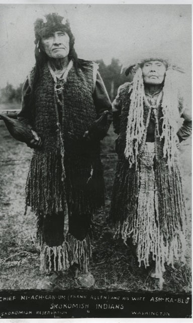 Skokomish Chief and Wife101