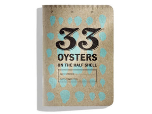 33 Oysters Tasting Booklet