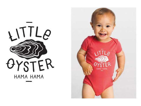 Little Oyster Baby Onesie